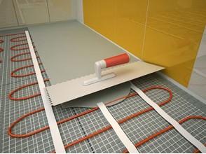 Монтаж и укладка электрического теплого пола