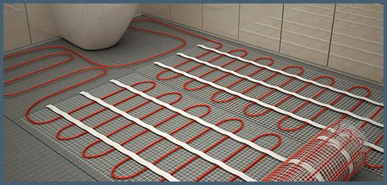 Тепла підлога під плитку